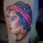 Gypsy girl tattoo